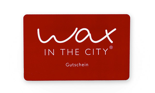 Geschenkgutschein WAX IN THE CITY